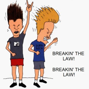 Beavis and Butthead are apparently qualified to be professors.